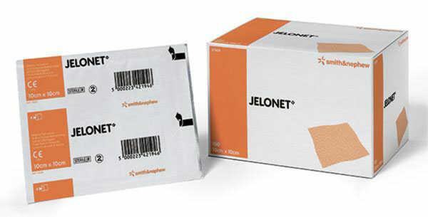 Сетчатые парафинизированые повязки JELONET