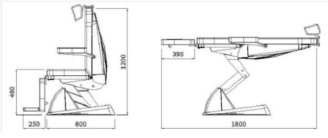 Оториноларингологические кресло FUTURA EVO